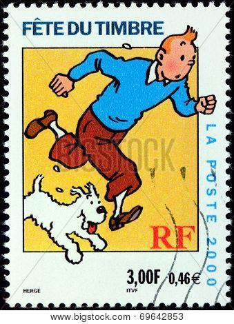 Tintin Stamp