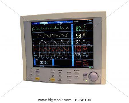 Color Cardiovascular Monitor, Digital Diagnostic Display, Doppler