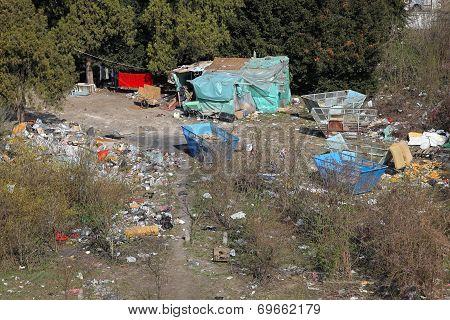Illegal Gypsy Colony