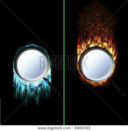 Ice Fire Pan