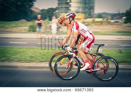 Rzeszow, Poland - August 05: Cycling Race Tour De Pologne, Stage 3 In Rzeszow. 71Th Tour De Pologne,