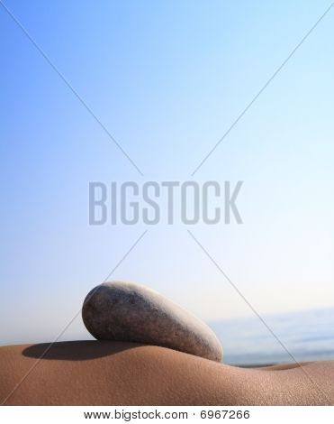 太阳和石头