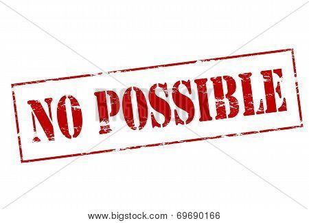 No Possible