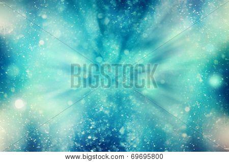 Winter Snowy Blizzard Background