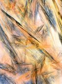 abstract background of wax color brush strokes poster