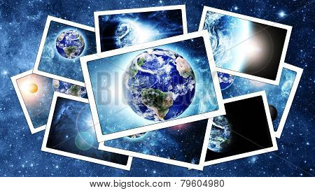 Pile Of  Space Pictures