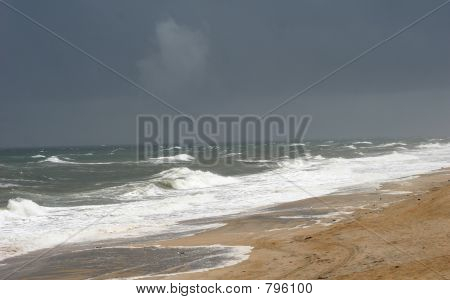 Approaching Tropical Storm