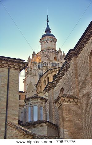 Cathedral of Santa Maria de la Huerta, Tarazona, Aragon, Spain