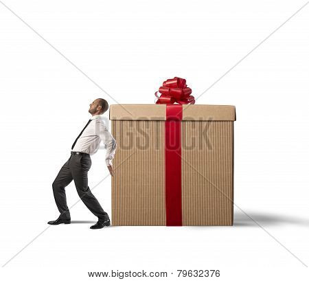 Businessman Present