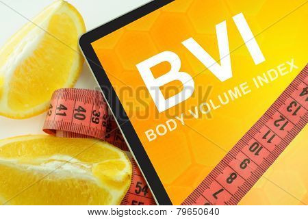 Body volume index BVI