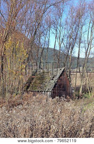 Ramshackle Wooden House