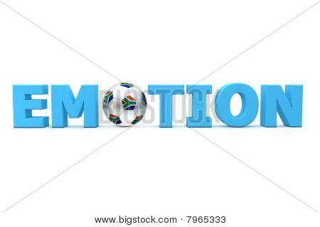 Futebol emoção Brasil - azul