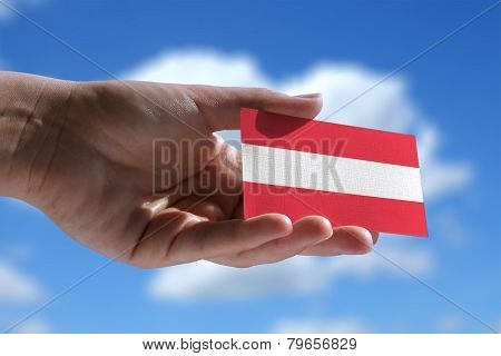 Small Austrian Flag