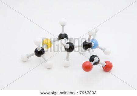 Methionine Amino Acid Molecule