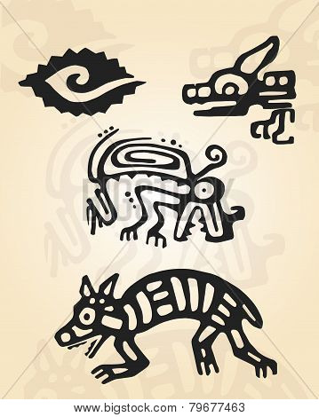 Prehispanic figures