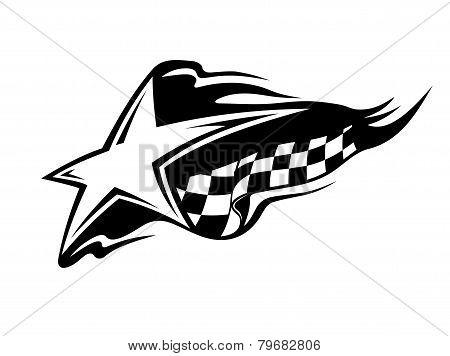 Racing sport icon