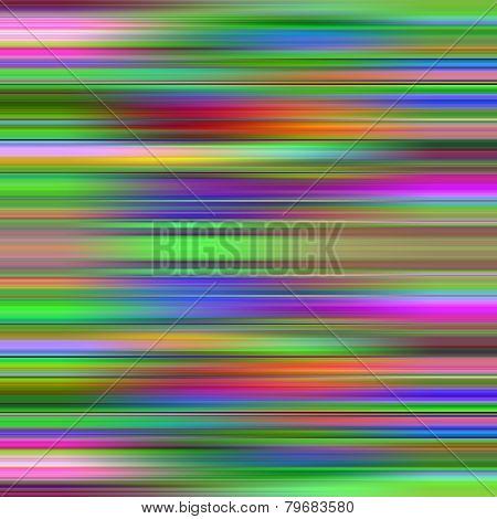 Multicolored graduated stripes pattern illustration.