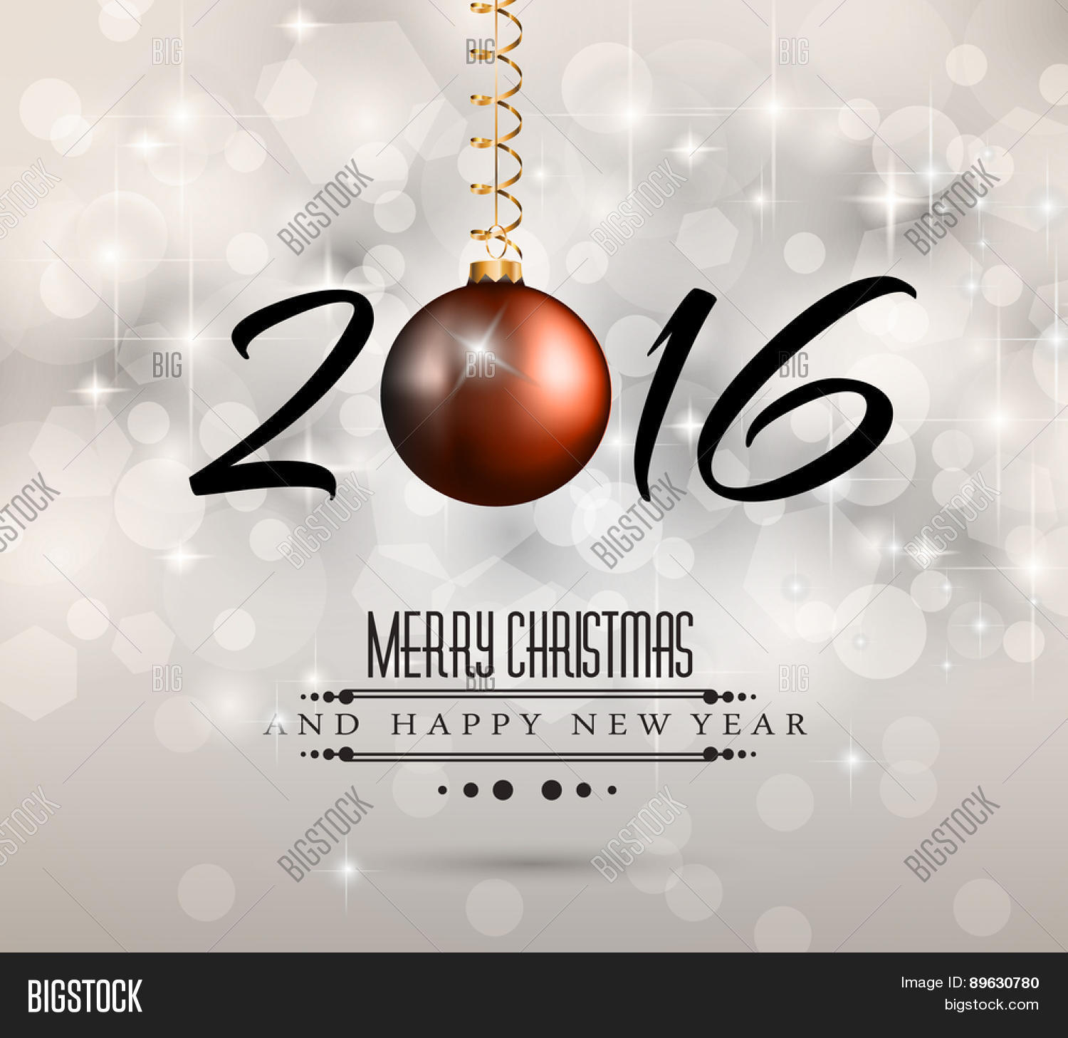 2016 New Year Happy Vector Photo Free Trial Bigstock