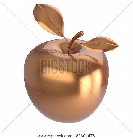 Apple Gold Ripe Fruit Nutrition Antioxidant Fresh Fruit