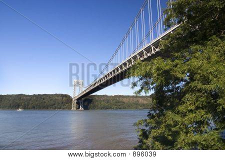 Blue Sky Over Hudson River