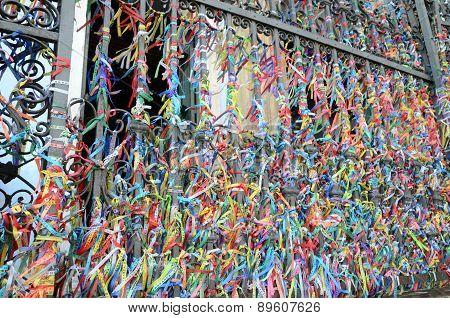Bonfim Ribbons in Salvador Bahia