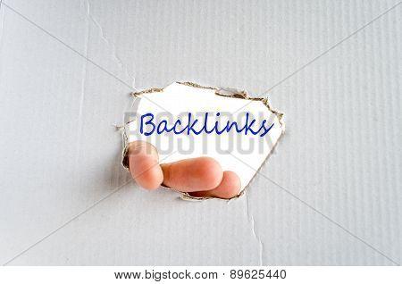 Backlinks Concept