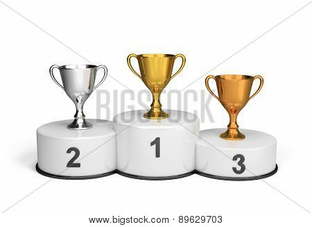 Cups On The Podium