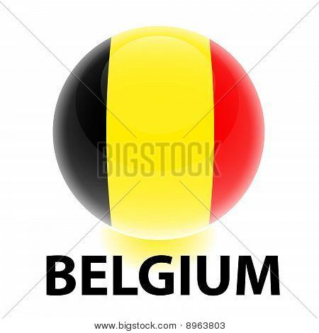 Orb Belgium Flag