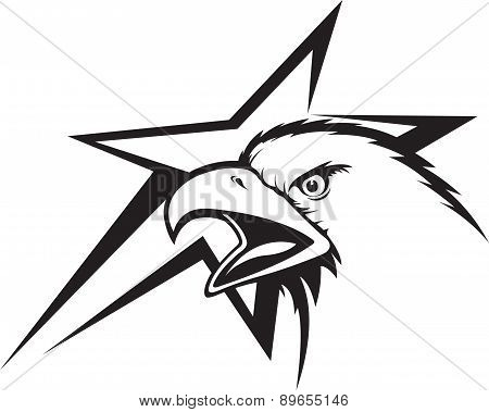 Eagle and star