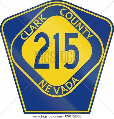County Route Shield - Clark County - Nevada