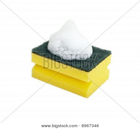 Dish Washing Sponge Foam Kitchen Cleaning Household