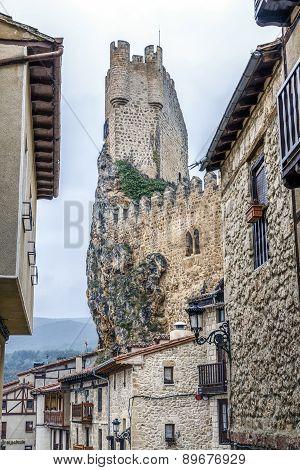 Castle Of The City Of Frias Burgos, Spain