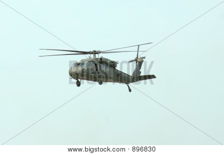 Blackhawk Hovering