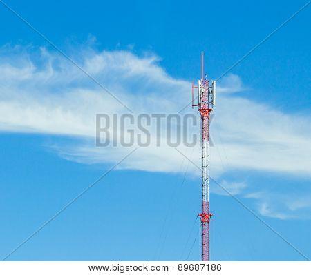 Gsm Antenna Pole