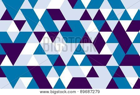 Vector Triangle Pattern Background.geometric Background.