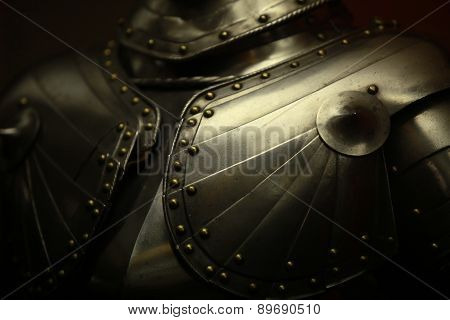 the Ancient medieval armor crusader close to poster