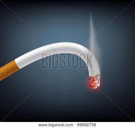 Bent Cigarette Meaning Impotence