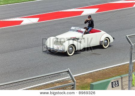 BARCELONA- MAY 9: Timo Glock of Virgin-Cosworth