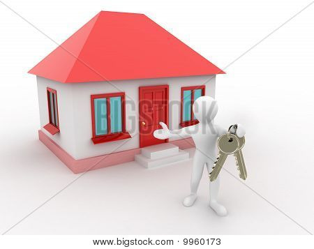 Man With The Keys Of The House