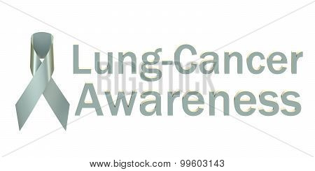 Pearl Ribbon Lung-cancer Awareness