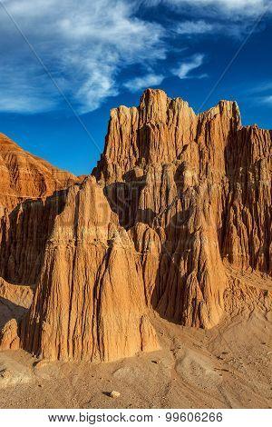 Nevada Great Basin Desert Red Rock Landscape