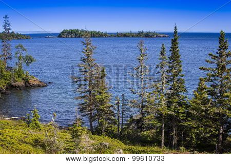 Lake Superior Shoreline, Isle Royale National Park, Michigan