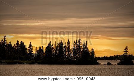 Lane Cove Sunset, Isle Royale National Park