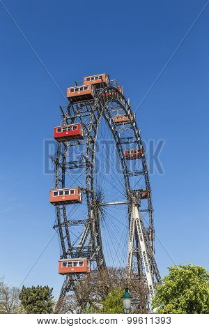 A View Of The Wiener Riesenrad In Prater