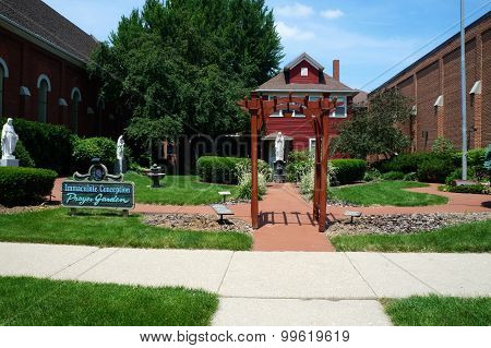 Immaculate Conception Prayer Garden