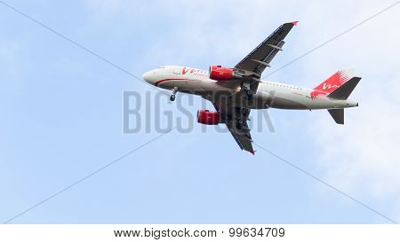 Airbus A319-111 Vimavia Flight