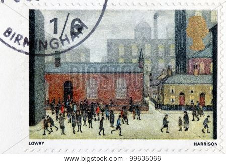 L. S. Lowry Stamp
