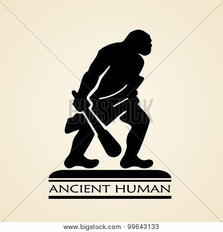 Ancient human icon