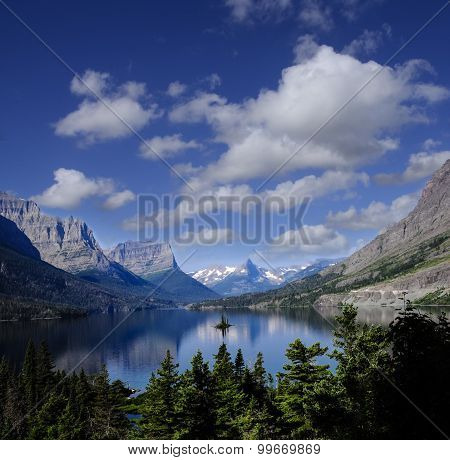 Wild Goose Island, St. Mary's Lake Glacier National Park