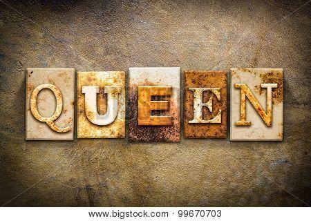 Queen Concept Letterpress Leather Theme